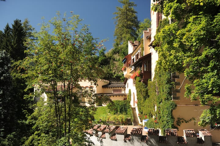 Valcastello Chateau with private park and tennis