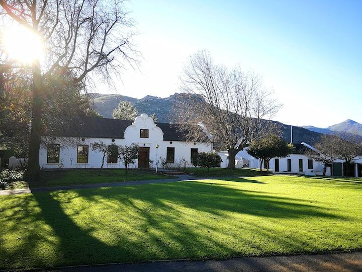 1694 Cape Dutch house on a Blueberry Farm.