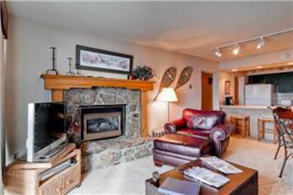 Fireplace &TVs in all rooms.  Sofa bed.