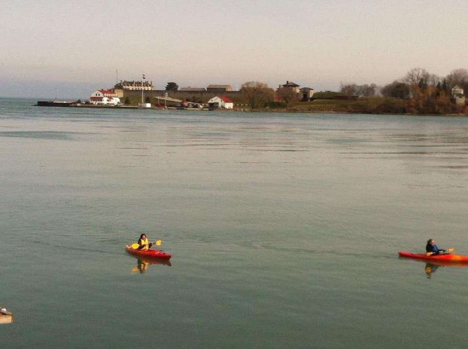 Enjoy the Niagara River