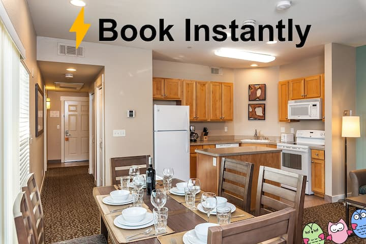 Late Check-Out, No Housekeeping Fee - Sleeps 6