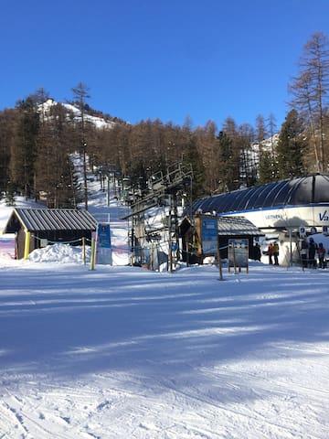 Studio cosy, skis aux pieds - Vars