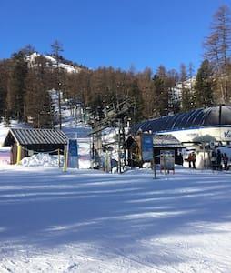 Studio cosy, skis aux pieds
