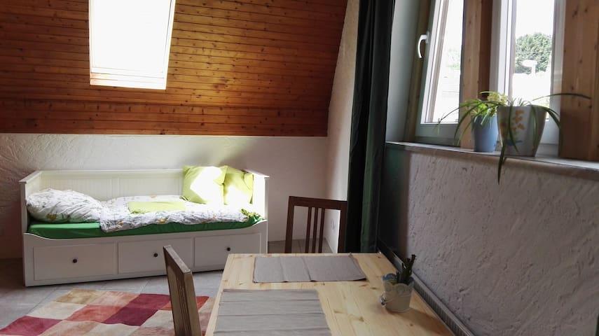Gemütliche Wohnung (Küche + Bad) für 2 Personen - Idstein - House