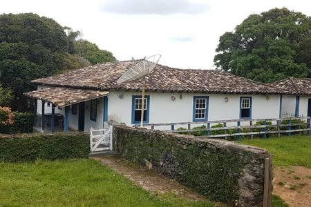 Fazenda aconchegante em São Tiago - MG