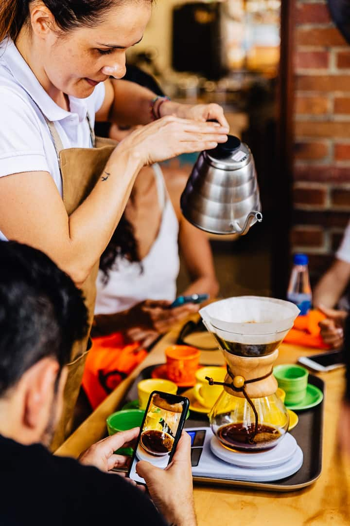 Colombian Coffee experience included