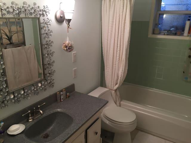Private full bathroom.