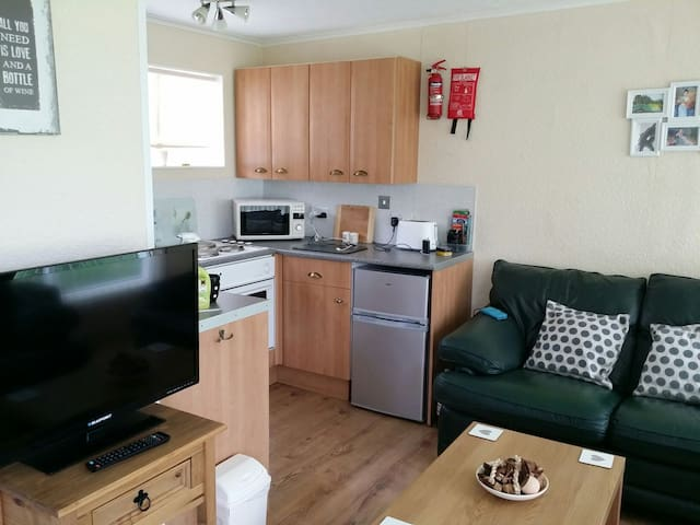 2 BDRM CHALET CEREDIGION NEWQUAY WALES PETS FREE - Gilfachrheda - Xalet