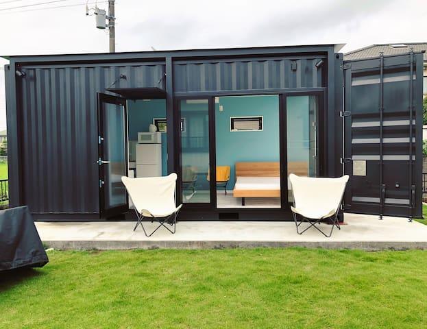 Tiny House Ichi (駅から徒歩5分 コンテナタイニーハウス)