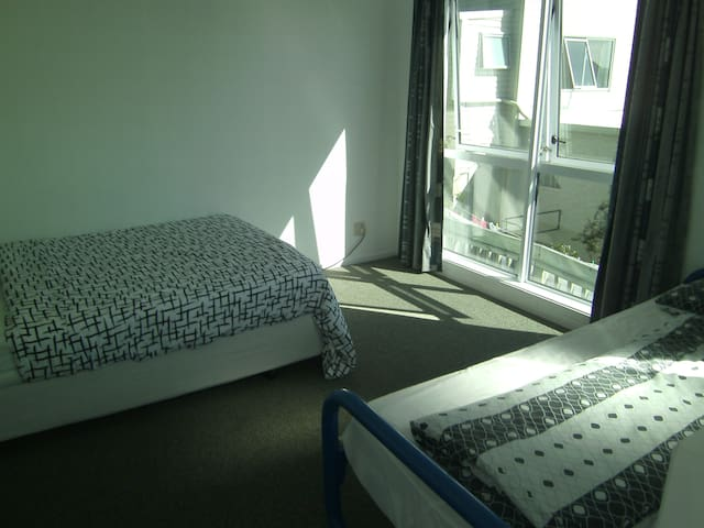 Double/Twin bedroom with view
