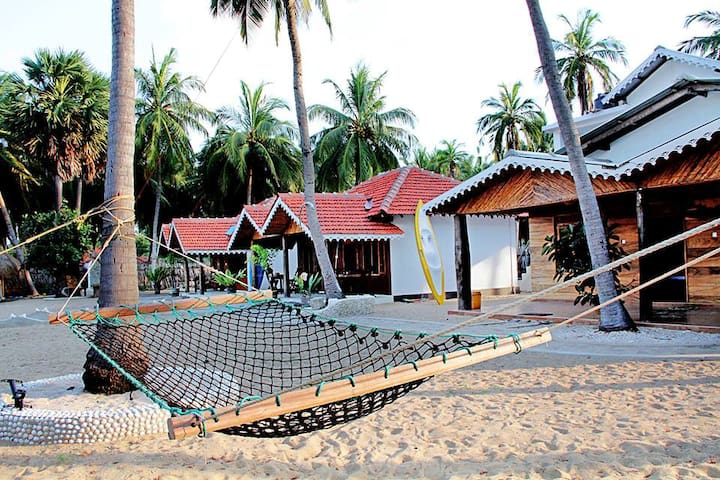 Kite Surfing Beach Resort Room 102 - Kalpitiya - 自然小屋