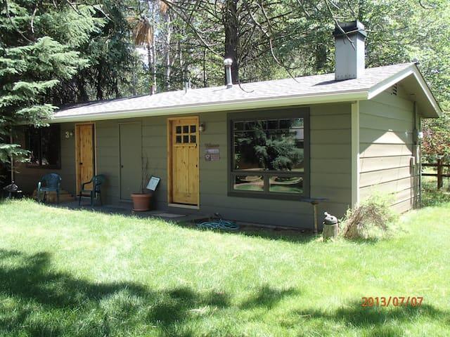 Camp Sherman Oregon  Private Cabin Mt Jefferson