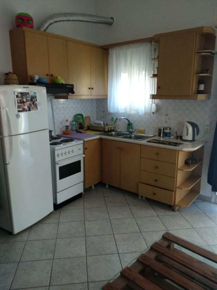 3-room apartment near bakery, hospital and airport