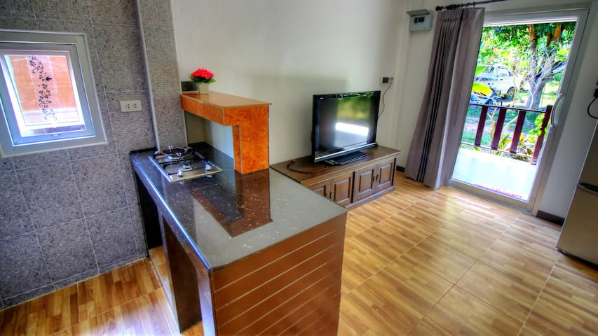 Mango House  Samui 1 bedroom 1 kitchen-living