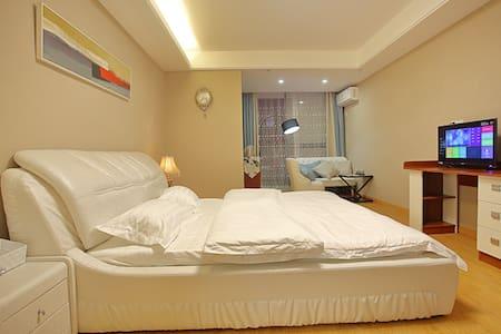 繁华都市中心酒店式公寓 给您家的感觉 - Huzhou - Apartment