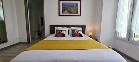 Appartement Barneville-Plage avec une vue mer