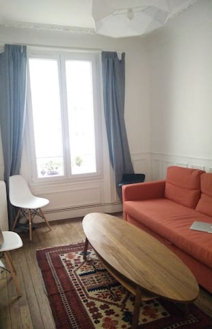 Recently renovated flat. 10 min to central Paris. - Bois-Colombes - อพาร์ทเมนท์