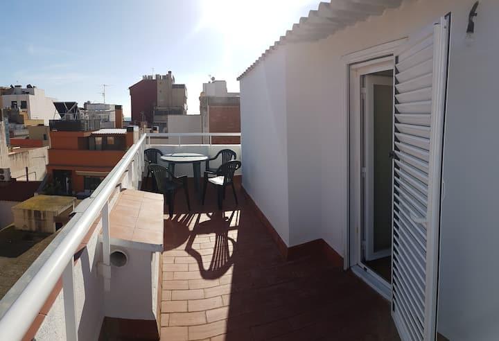 Appartement à 50 metres de la mer !