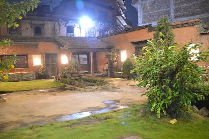 A local Newari family home stay in Bhaktapur