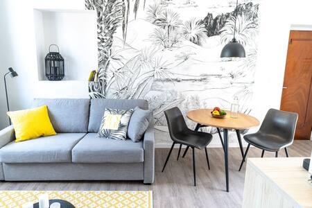 Studio GUIMET avec terrasse-Oullins centre-Lyon