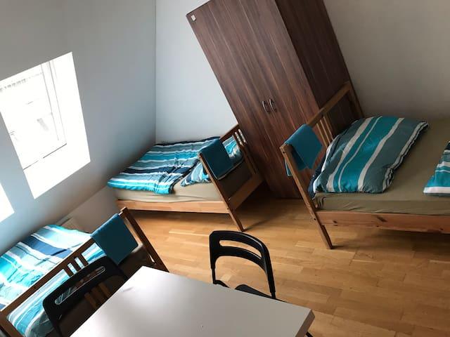 Privatzimmer für 3 Personen U-2 Zentru (Hidden by Airbnb) ah RsG29B