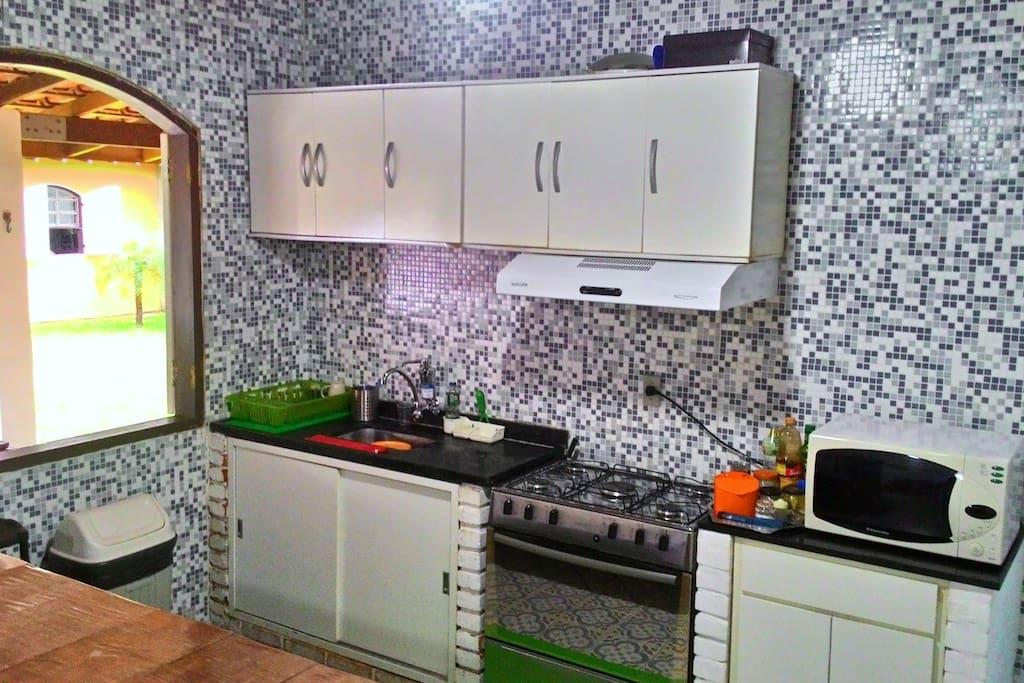 Cozinha completamente equida