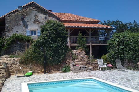Faugeraulas bij Thiviers, Dordogne, max 8 personen - Saint-Romain-et-Saint-Clément - House