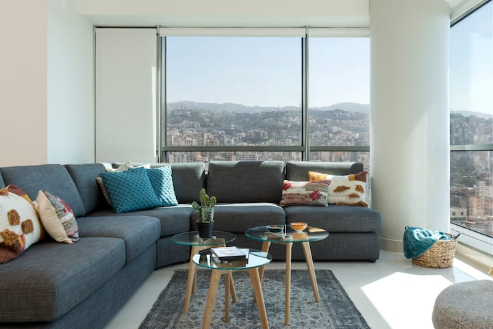 Antelias 3BD Apartment with 360° view
