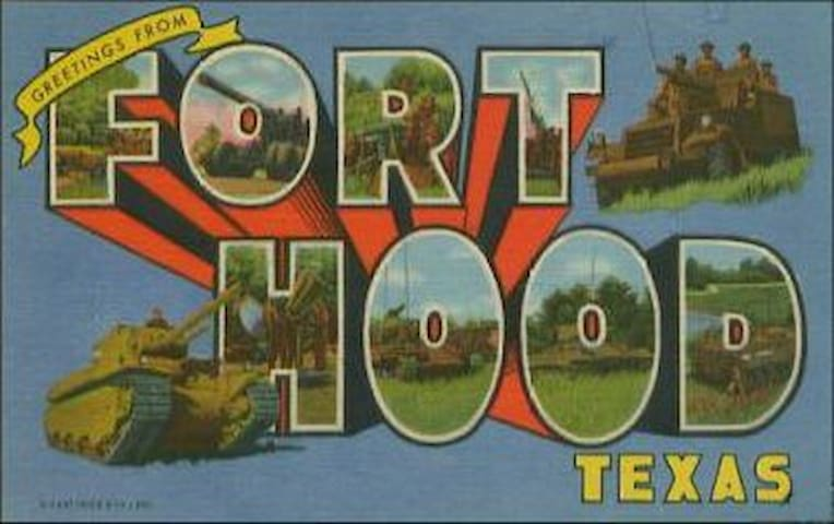 "Ft. Hood, "" The Great Place"" HOOAH! - Copperas Cove - Casa"