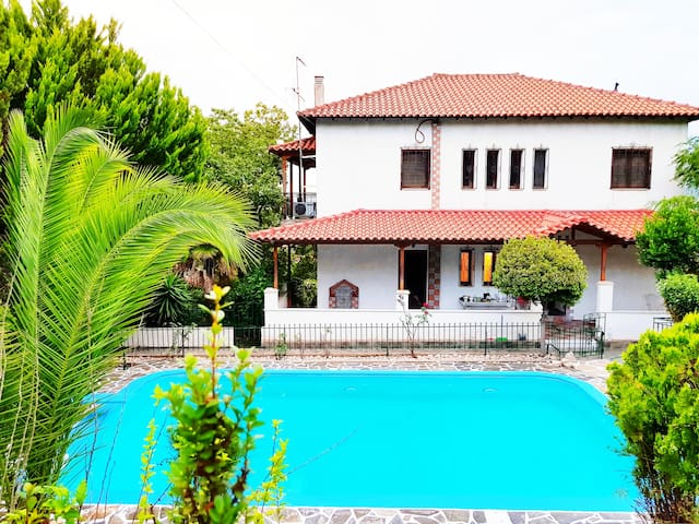 Ancient Olympia Luxury Pool Villa Palace 4Bedroom