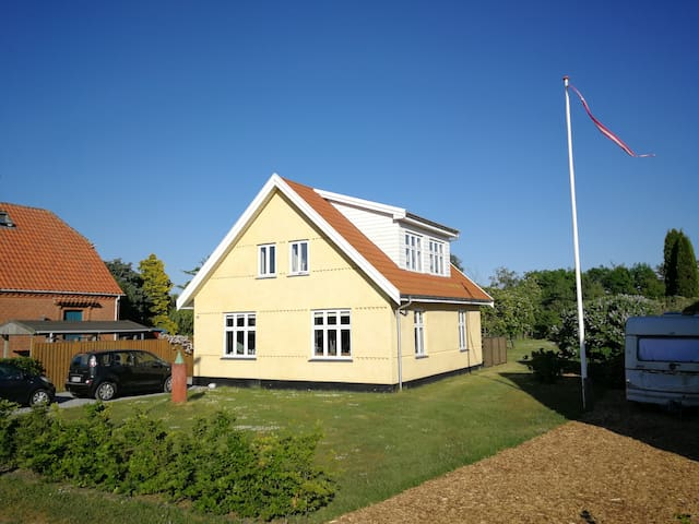 Vordingborg (in town), house close to the sea.