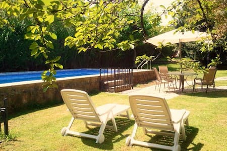 Sunny and cosy with garden and pool - Becerril de la Sierra