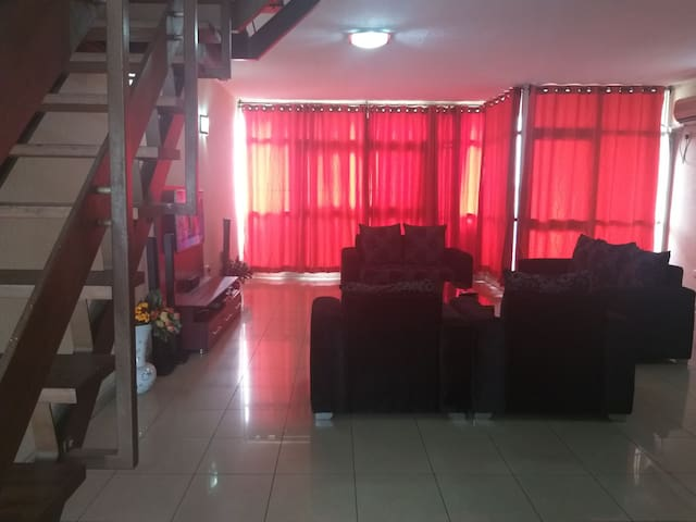 A well furnished and cozy 3bedroom apartment.