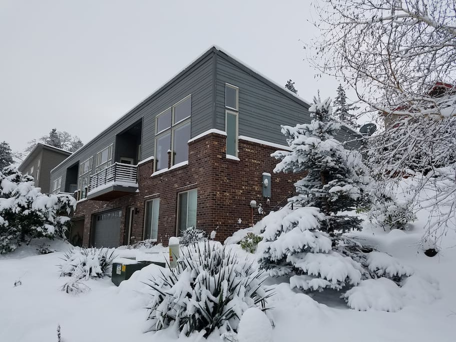 A winter pic of the property