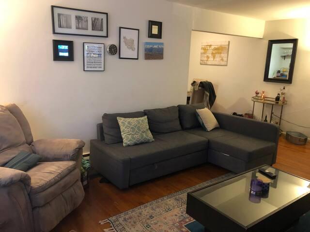 Cozy apartment near NYC and New Brunswick!