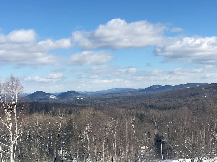 Overlooking the Adirondacks