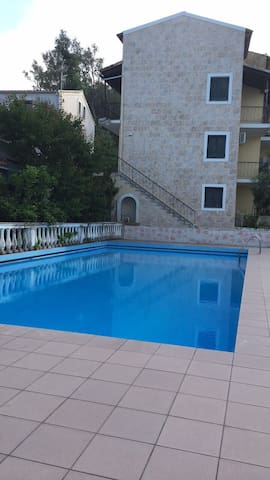Apartment with swimming pool and great view