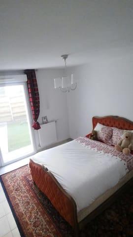 chambre jardin - Bordeaux  - Appartement