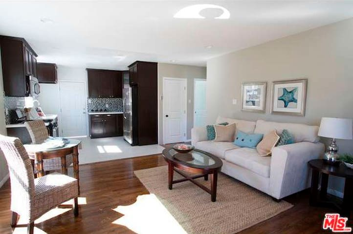 Open and spacious living room