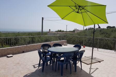 Casa vacanze nel Gargano, con vista panoramica