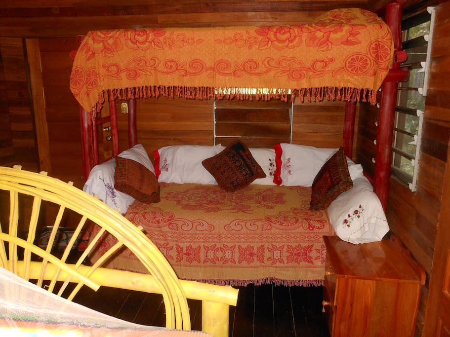 Twin Bunk beds in Cotton Tree Cabana