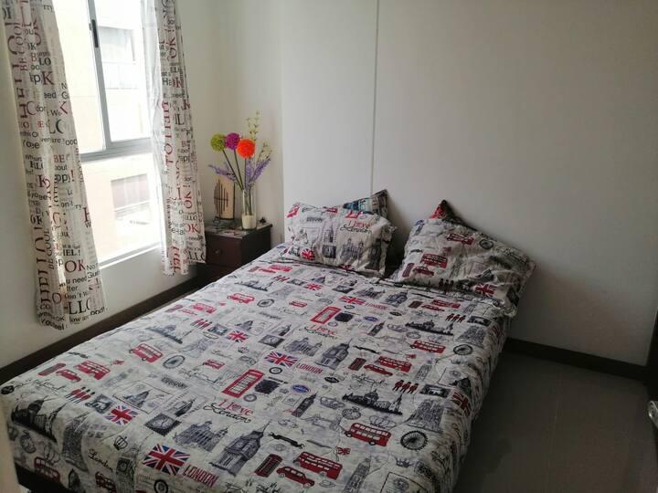 Habitación - Room Cali - La Flora - Chipichape