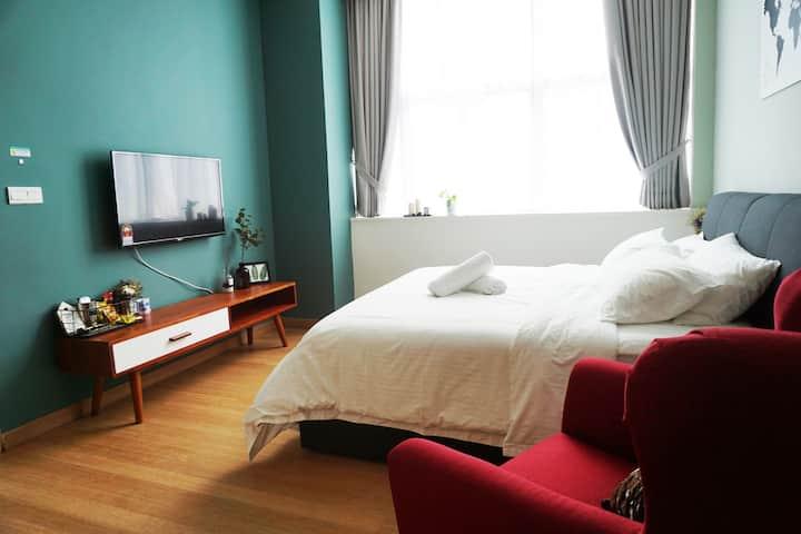 KingBed Cozy Suite(2pax)@Cgkt Bukit Bintang章卡武吉免登区