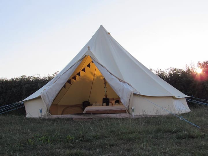Bell Tent - Electric Pitch, Georgeham. SB