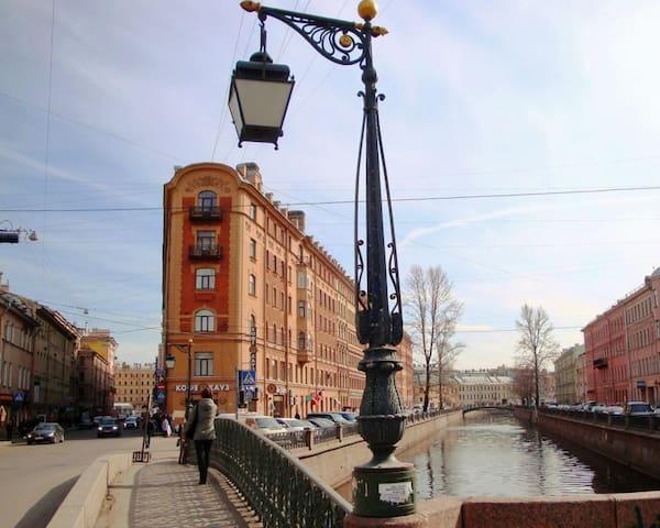 Мини-отель Демидов Мост - Sankt-Peterburg - Bed & Breakfast