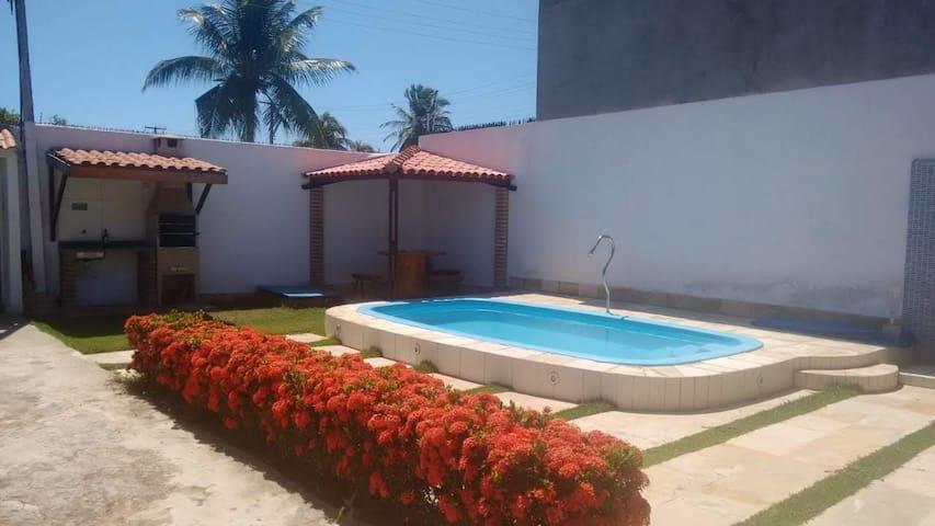 Casa Paripueira - Próxima ao Restaurante Mar & Cia