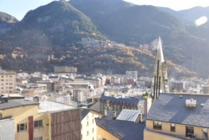 Apartaments Hortalets I Atico (Centro Andorra)