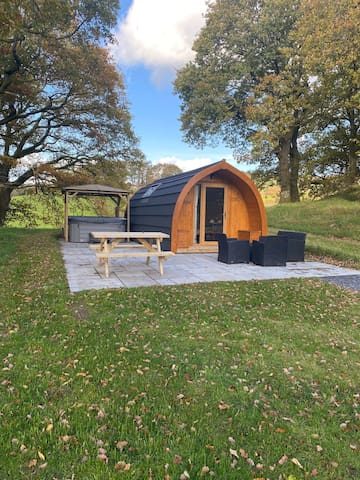 Glamping Conwy Pod in Betws y Coed Snowdonia