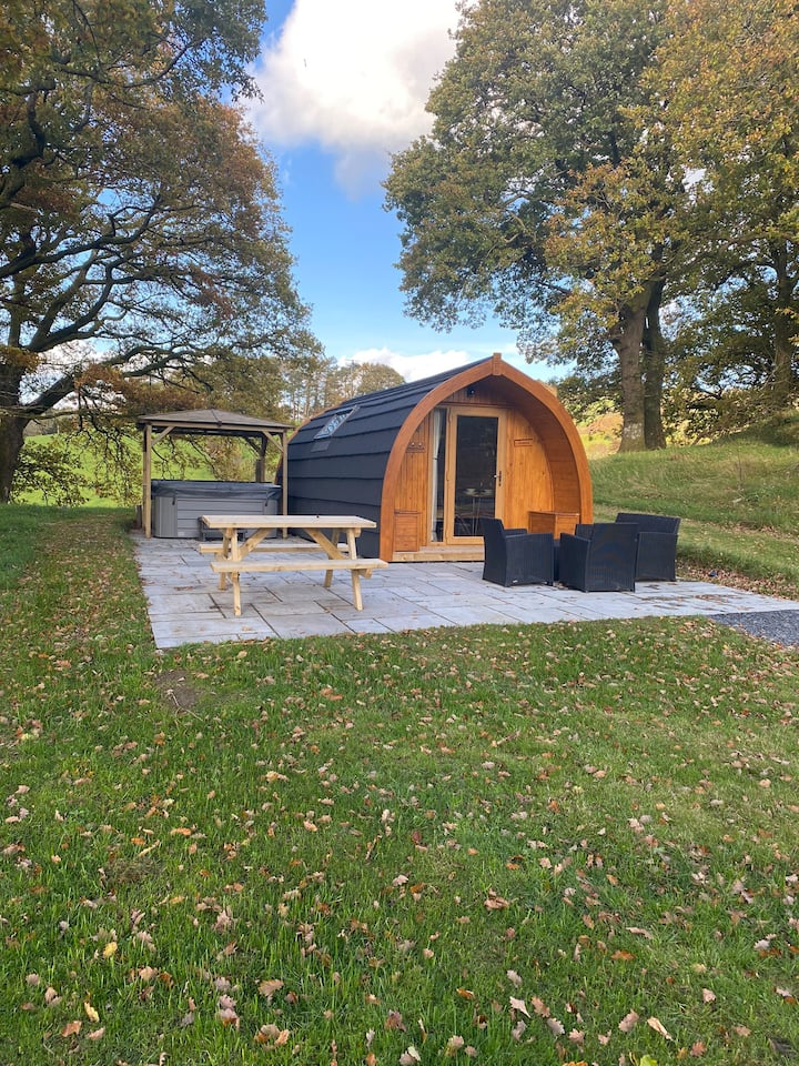 Glamping Siabod Pod in Betws y Coed Snowdonia