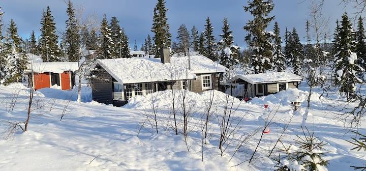 Koselig hytte nær Trysil , Støten og Sälen